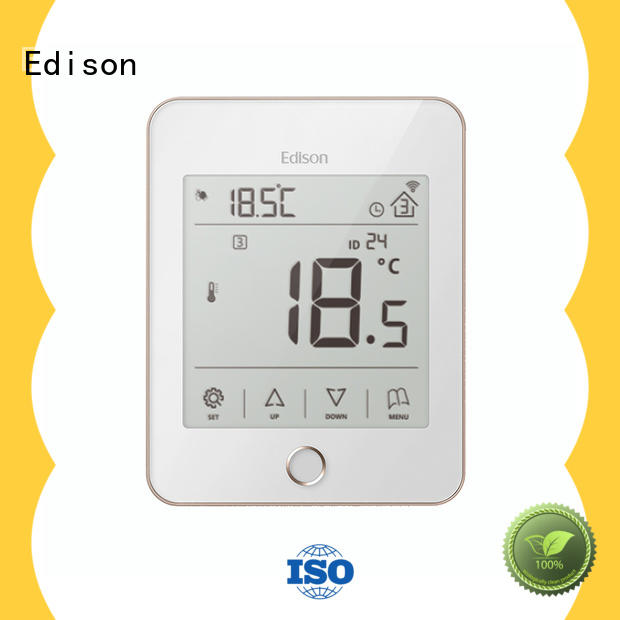 heating heating room thermostat thermostat for electric heating control system Edison