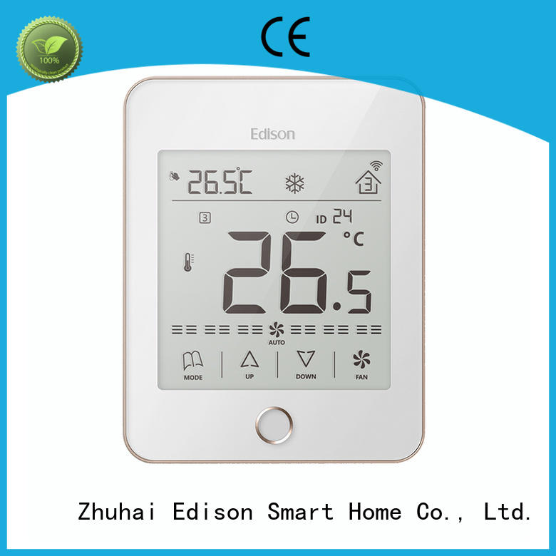 Edison modbus heat pump thermostat manufacturer for apartments