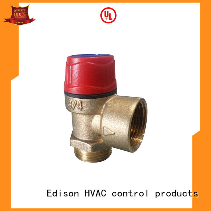 Heating water pressure reducing valve water hot Edison Brand