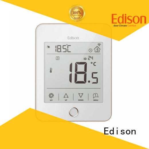 Edison durable underfloor heating thermostat sale for hardware store