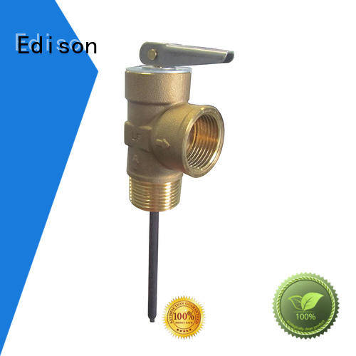 Edison durable pressure release valve manufacturer for hardware store