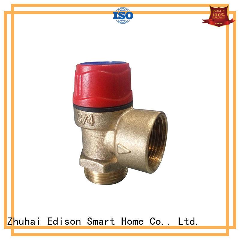 Edison safety relief valve regulator for industry