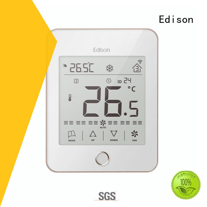 Edison durable thermostats room for villas
