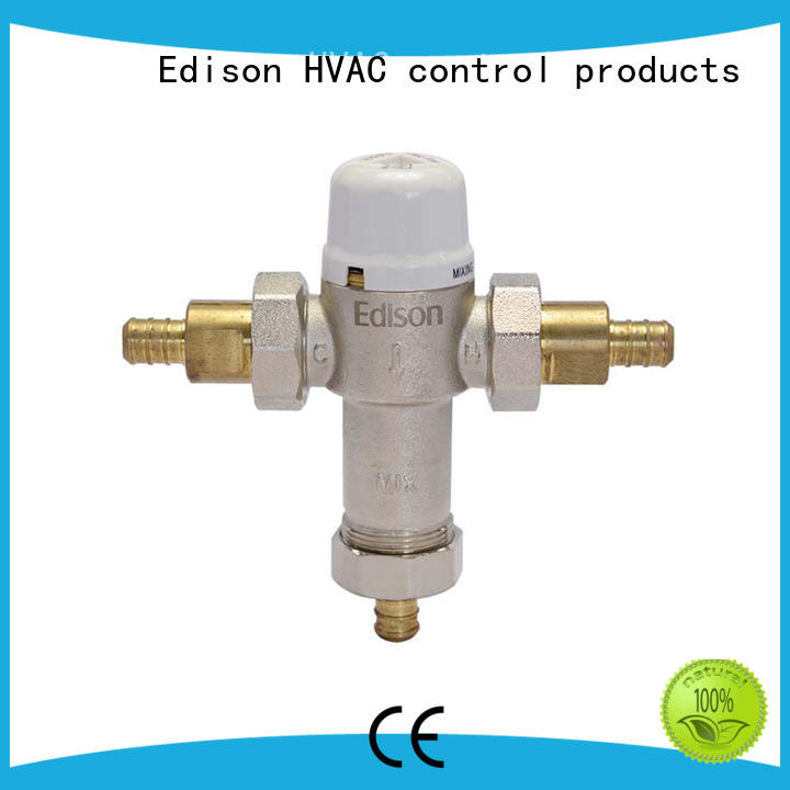 durable 3 way thermostatic mixing valve supplier for hotels