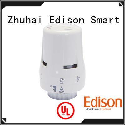 Edison thermostatic radiator air valve knob for hotels