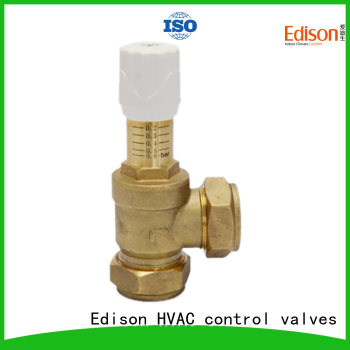 Edison frostvalve radiator drain valve series for industry