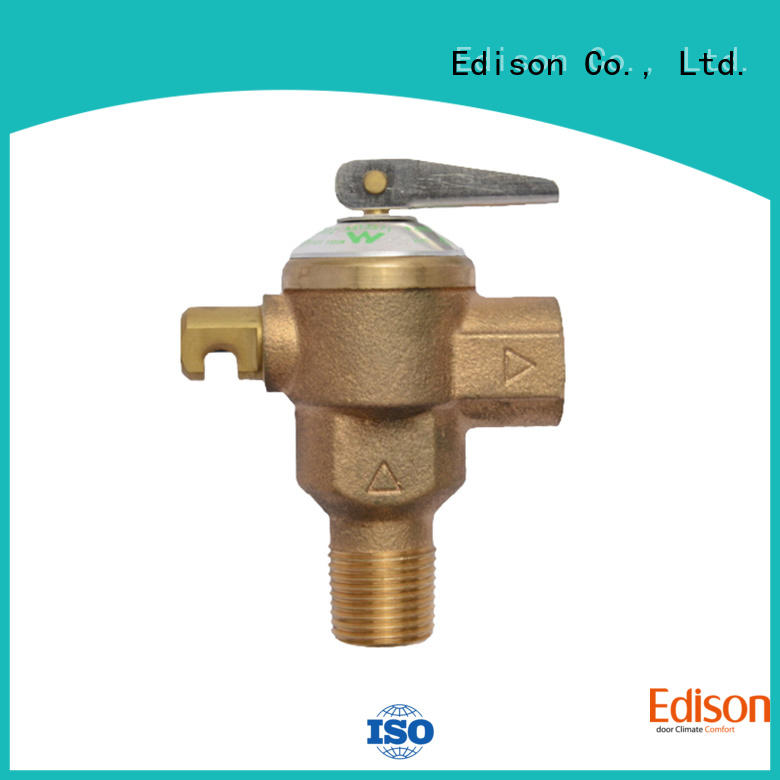 durable temperature and pressure relief valve supplier for hardware store Edison