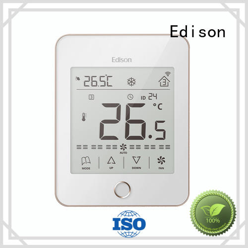 Edison Brand screen comfortable digital thermostat safety supplier