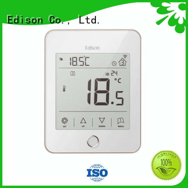 Edison high quality underfloor heating controls wholesale for electric heating control system