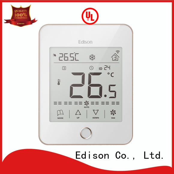 Edison touch internet thermostat series for hotels