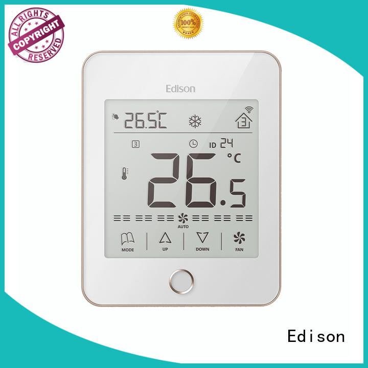 Edison high quality room thermostat wholesale for apartments