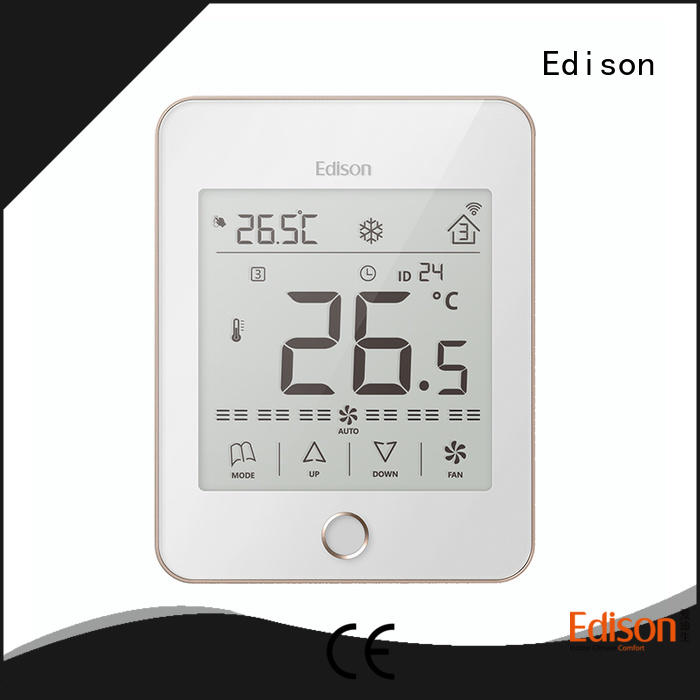 Edison touch room thermostat manufacturer for villas