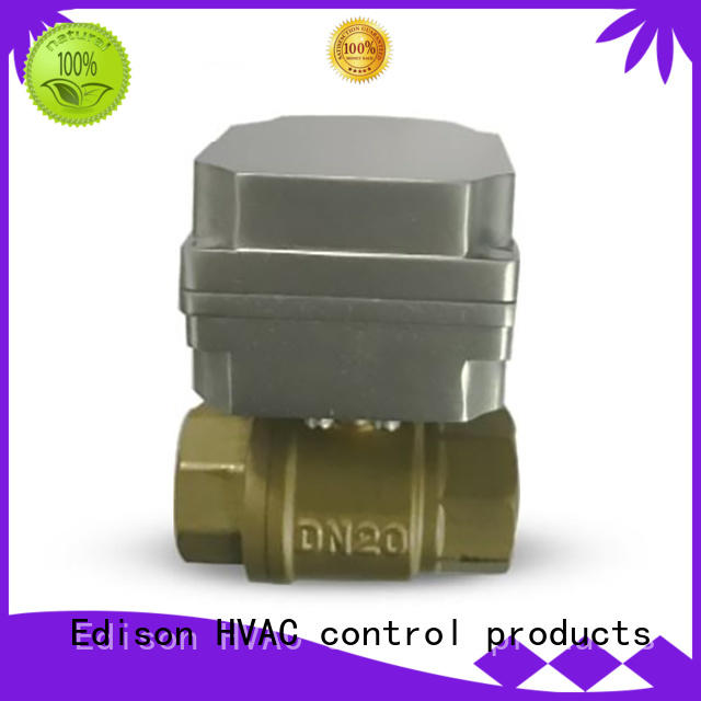 system electric ball valve stable Edison company