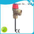 Edison high quality water heater temperature and pressure relief valve supplier for boilers
