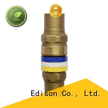 Edison Brand brass limiting drain pressure bypass valve