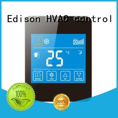 Edison Brand modbus ac screen smoothly wireless thermostat