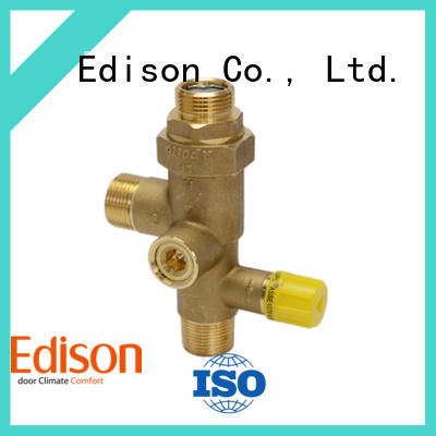 high quality 3 way thermostatic mixing valve wholesale for hardware store Edison