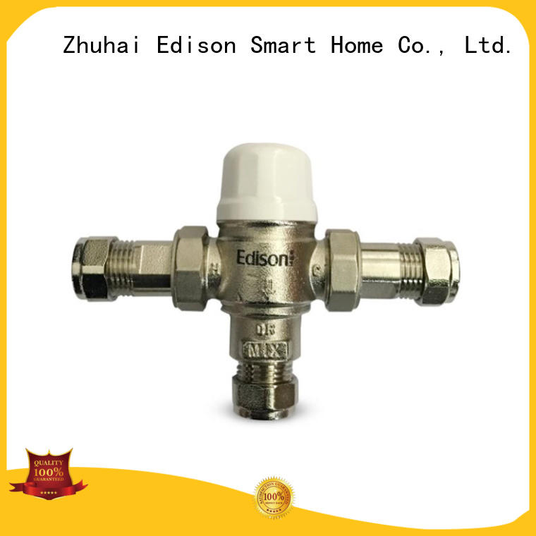 Edison function thermostatic valve production for hardware store
