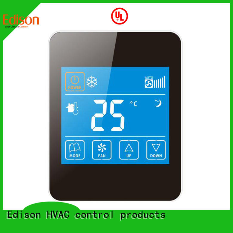 Edison high quality thermostats series for hotels